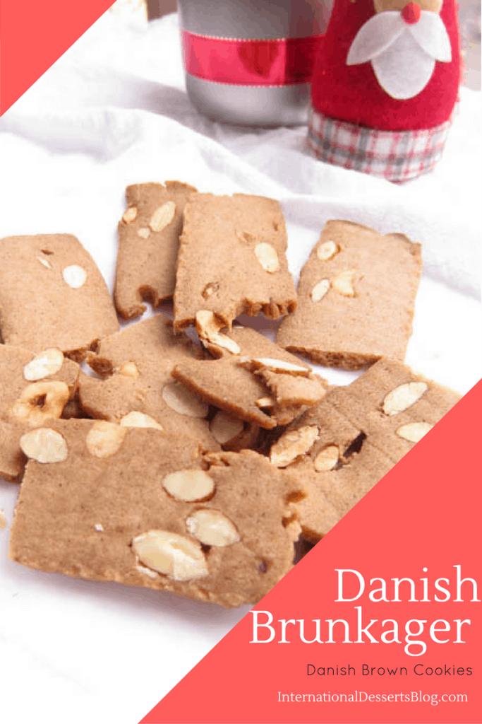 Crunchy Carmel-y Danish Brown Cookies
