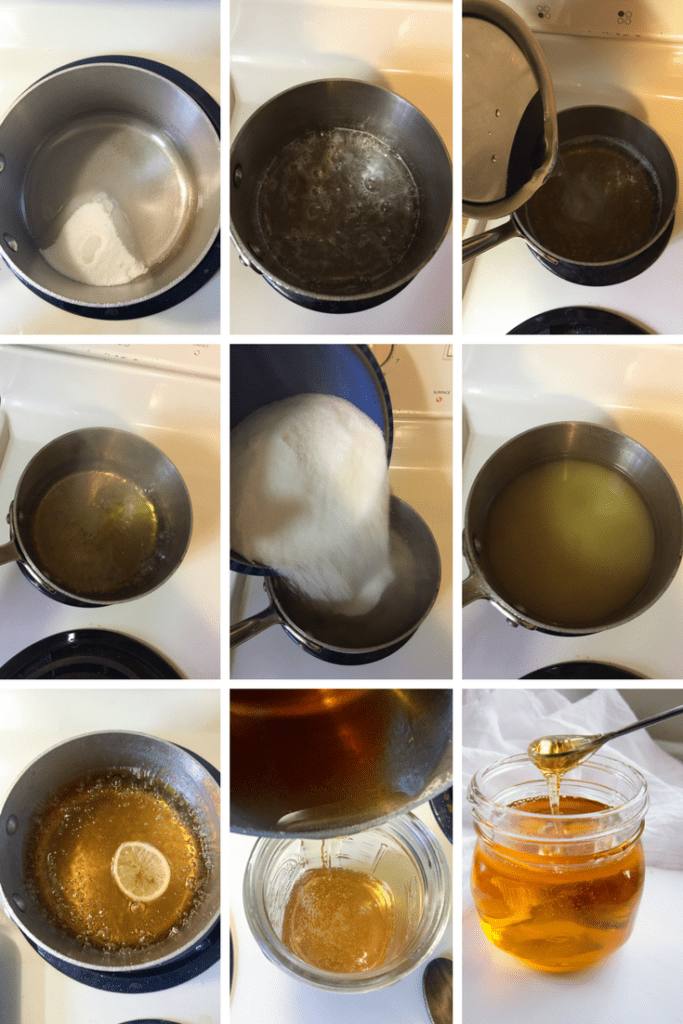 Step-by-step for making delicious Golden Syrup at home!