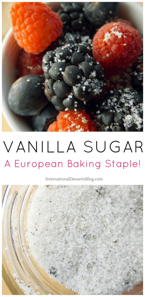 Classic European Vanilla Sugar - you'll want to sprinkle this on berries, oatmeal, yogurt, lattes, and more!