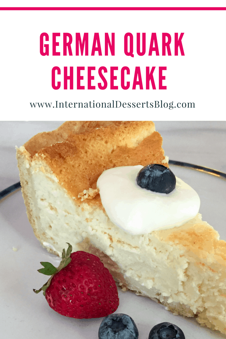 The BEST authentic German cheesecake! So good!