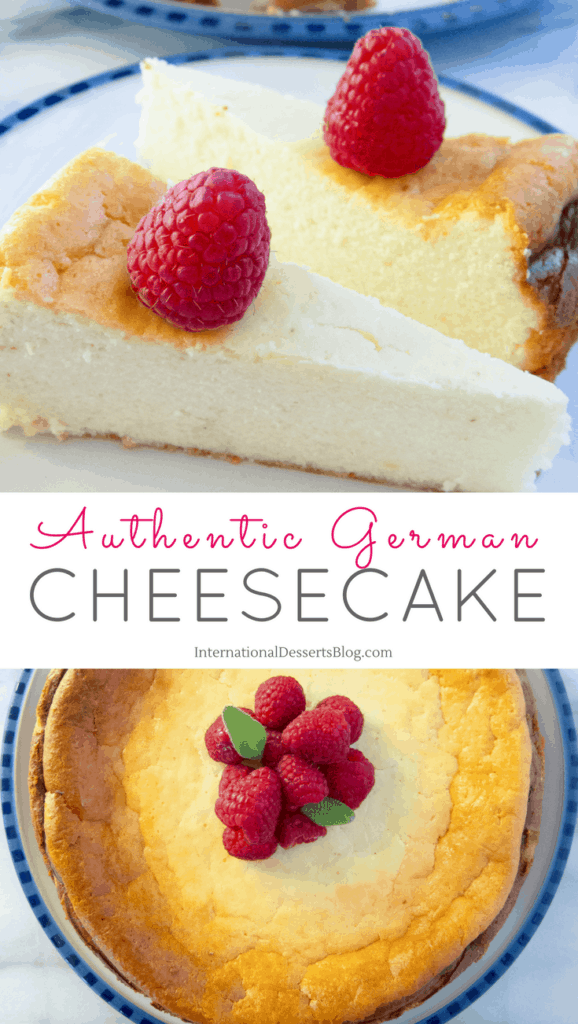 This is the BEST authentic no crust German cheesecake!
