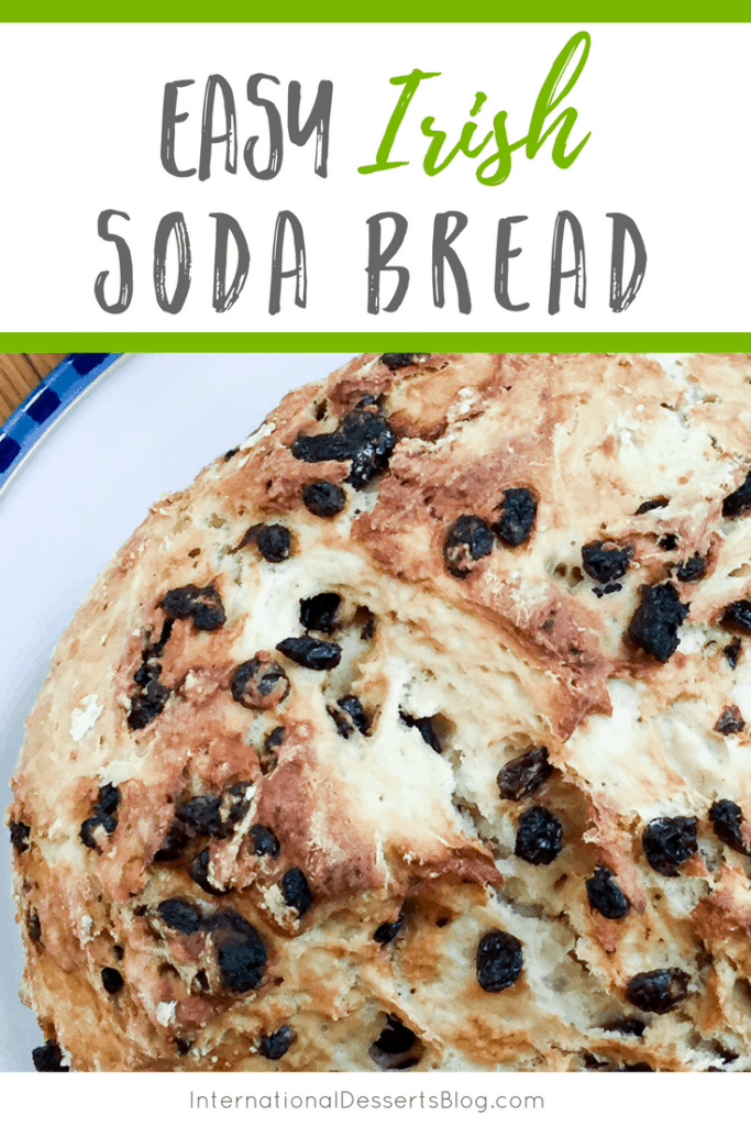 This easy Irish soda bread is so good! You've gotta try it!
