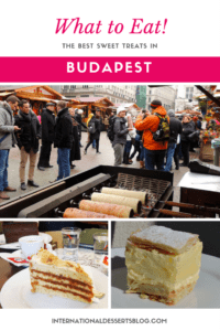 Where to find the BEST cafes, cakes, and more in Budapest, Hungary!