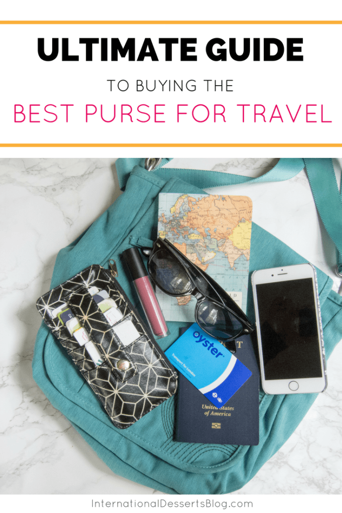 How to choose best purse for international travel!
