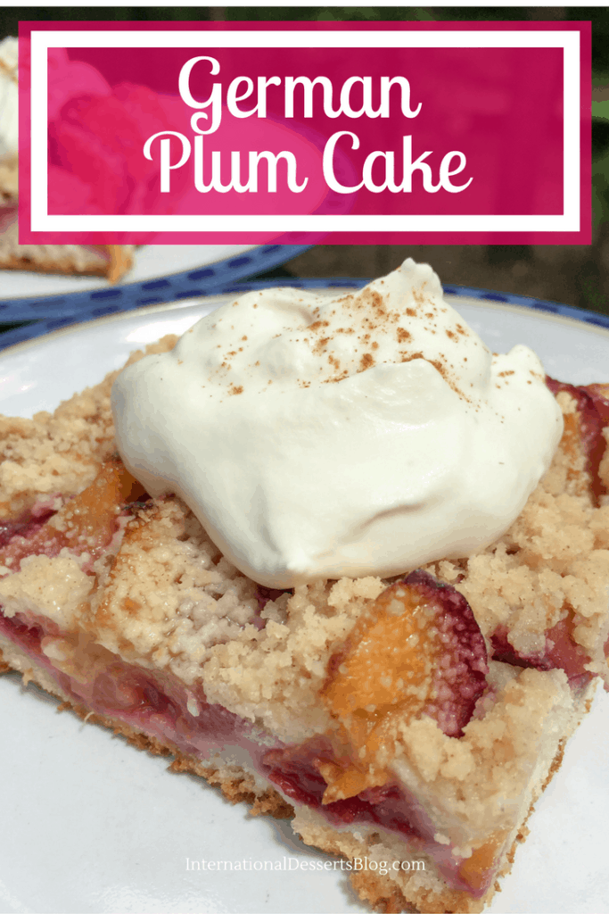 You've got to try this German Plum Cake!
