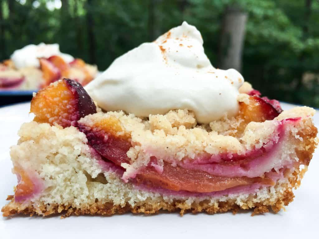 Zwetchenkuchen (Plum cake)