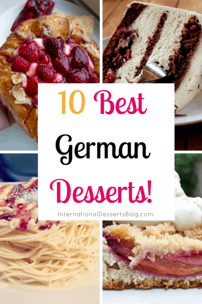 The 10 BEST German desserts and sweet treats to try when visiting Germany!