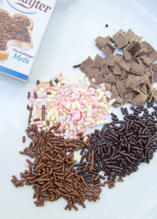The milk chocolate hagelslag are the best