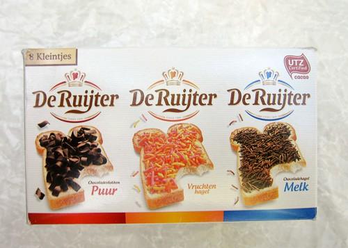 Dutch hagelslag - delicious chocolate sprinkles!