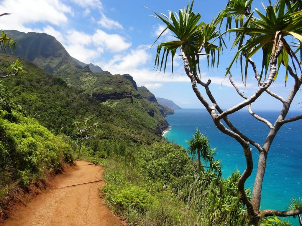 hiking options in the beautiful Hawaiian island of Kauai