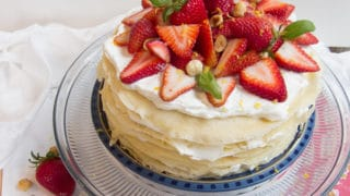 French Mille Crepes Cake
