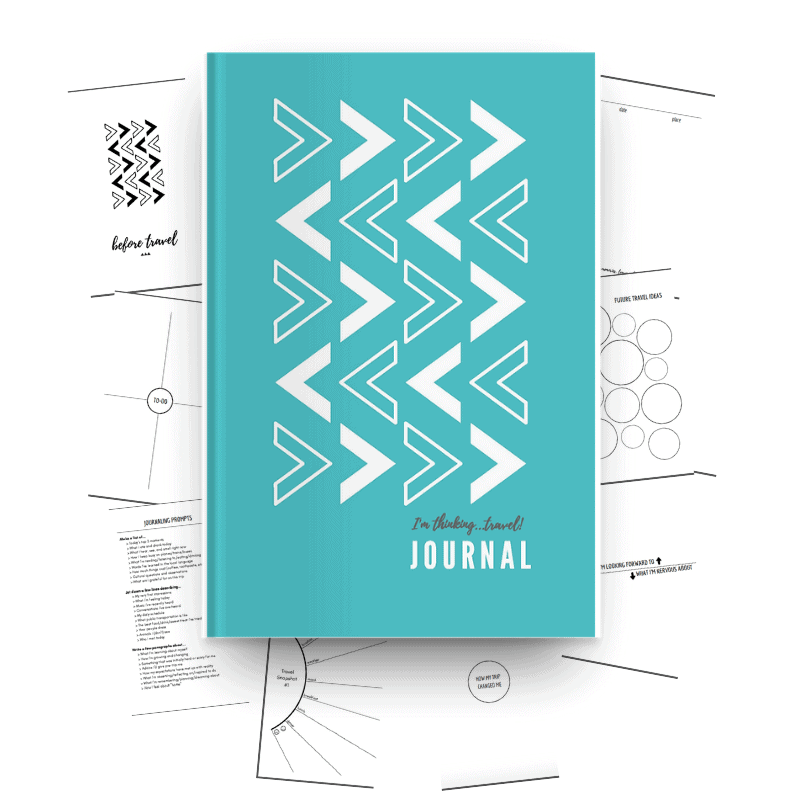 Planning a trip for 2019? Know someone who's about to study, intern or travel abroad? This guided travel journal willinspire you to record and reflect on your travels before, during, and after your trip -- and then it turns into a treasured keepsake!