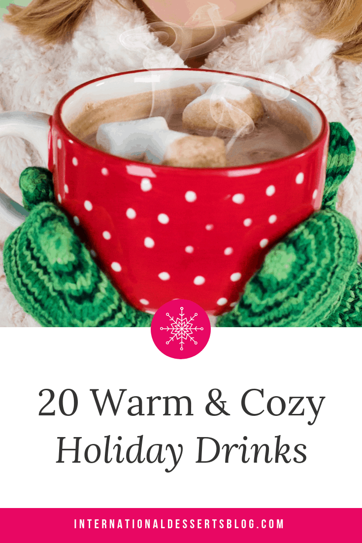 20 Warm Non Alcoholic Drinks For The Winter That You Can Totally