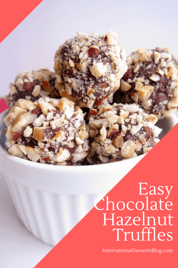Easy Chocolate Truffles - So Good!