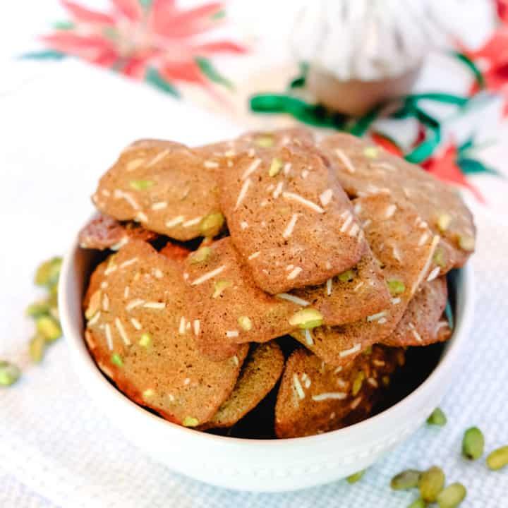 Danish Brunkager (Danish Christmas Cookies)