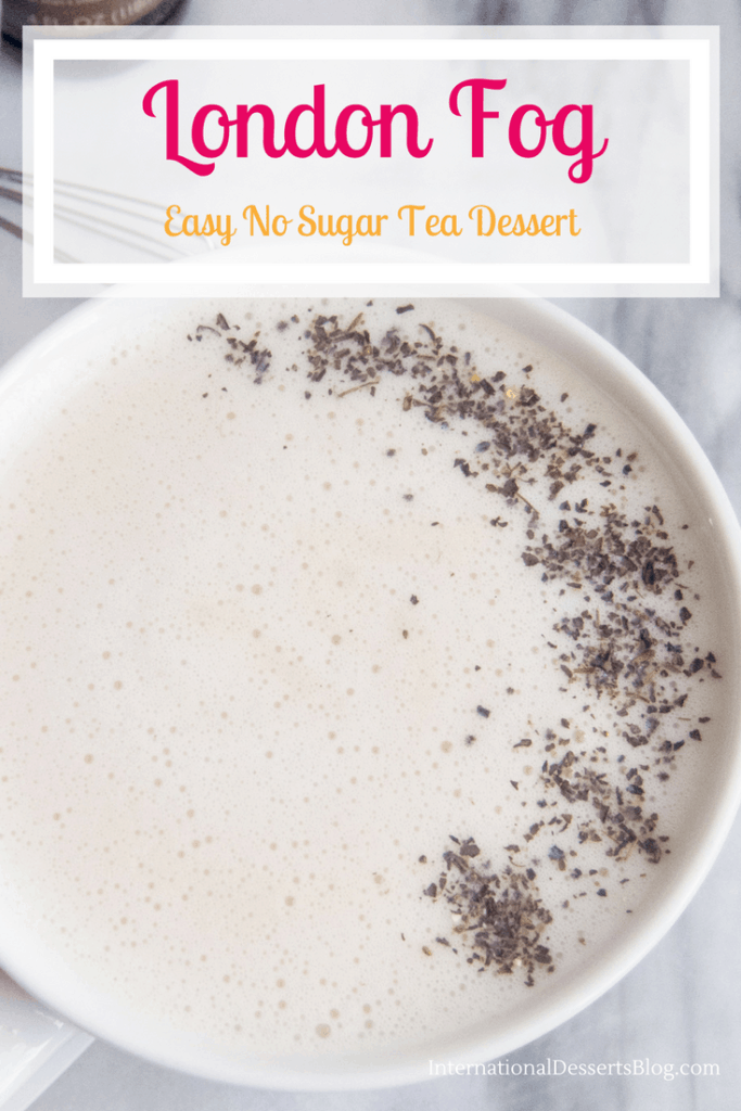 A luxurious no sugar tea dessert!