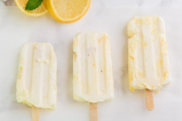 Lemon Curd Ice Pops