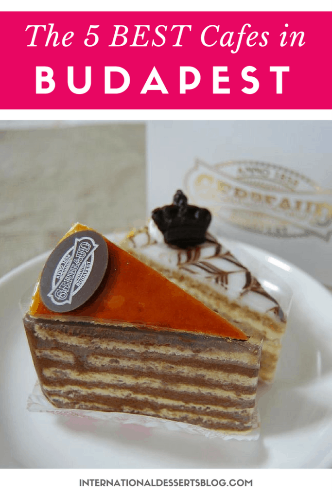 You've got to try these cafes and cakes in Budapest!