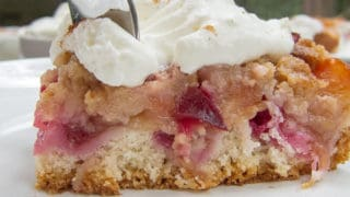 Easy German Plum Cake