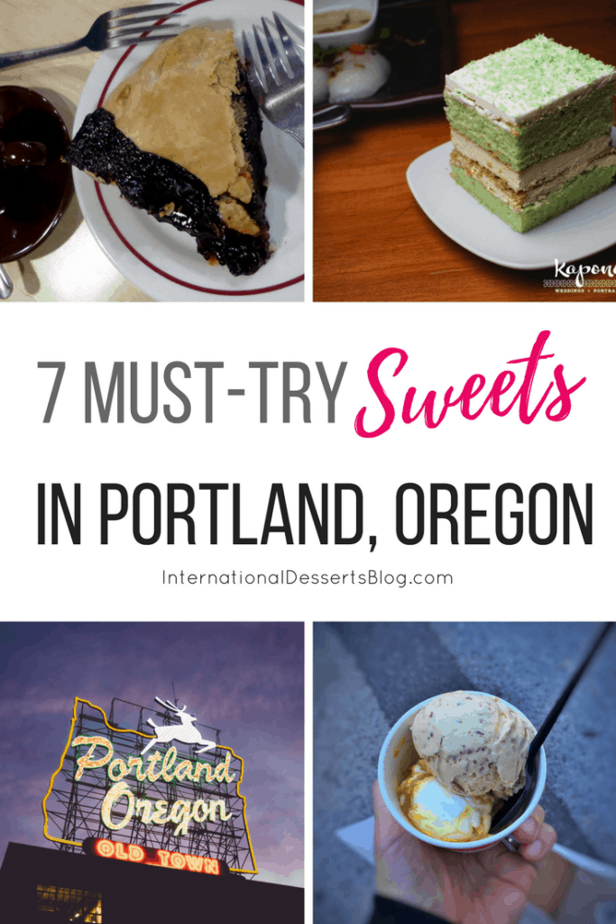 Don't leave Portland, Oregon without trying these 7 cakes, pies, pastries, and other sweet treats!