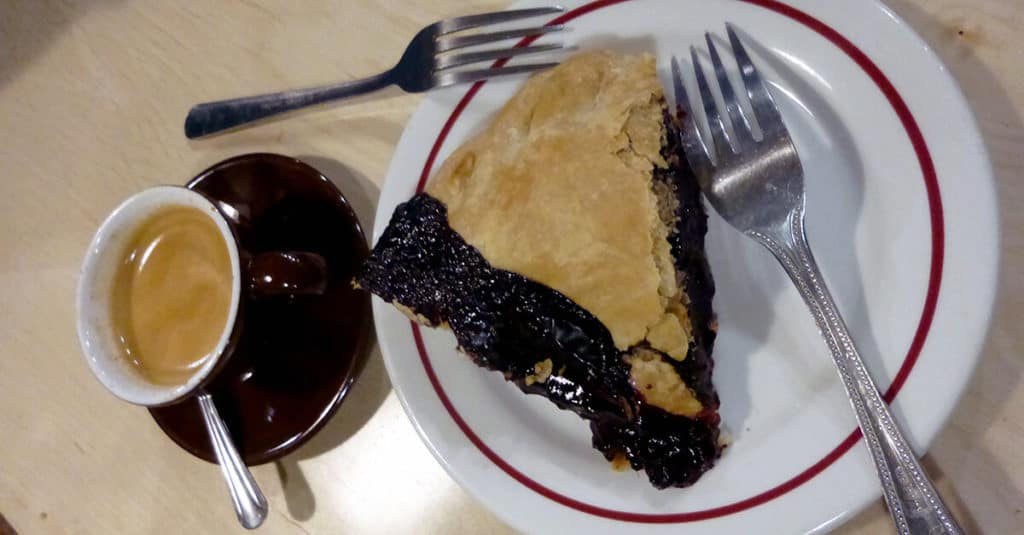 Get a slice of delicious pie at Bipartisan Cafe in Portland, Oregon!