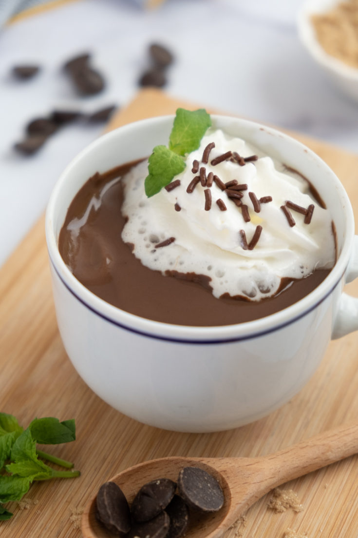 French Hot Chocolate For One