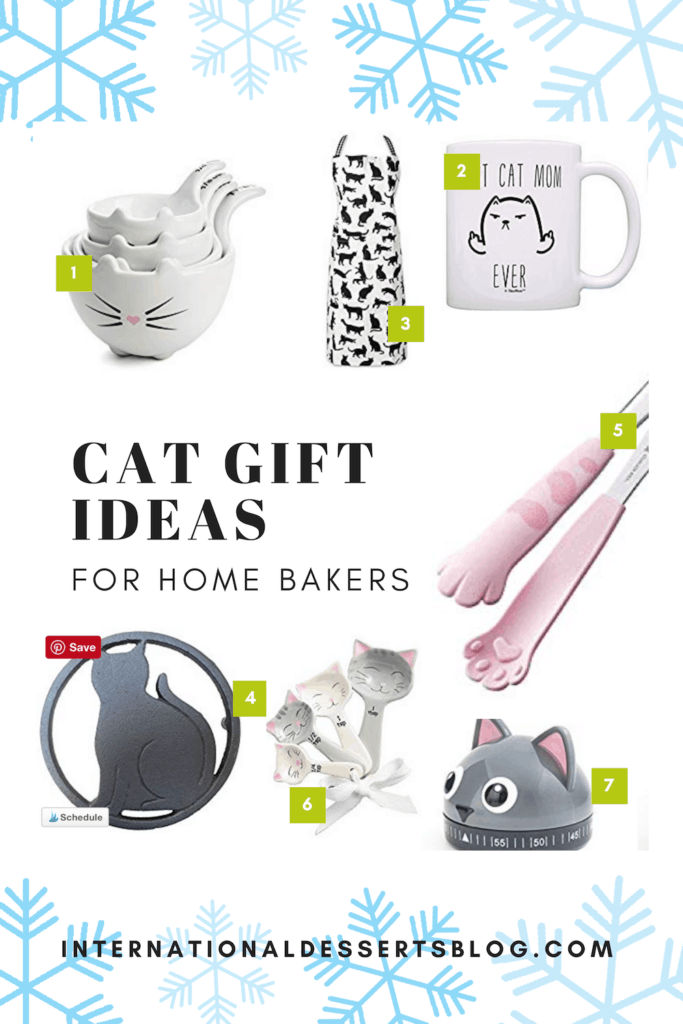 21 Cat Themed Gifts For Bakers