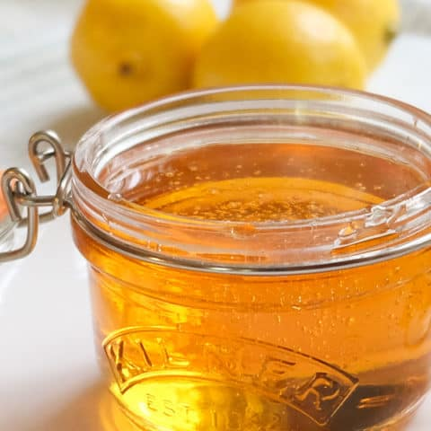 Homemade Golden Syrup