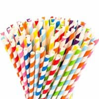 Fun Paper Straws
