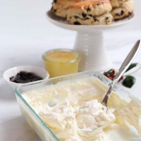 Easy Clotted Cream Recipe What Works And What Doesn T International Desserts Blog