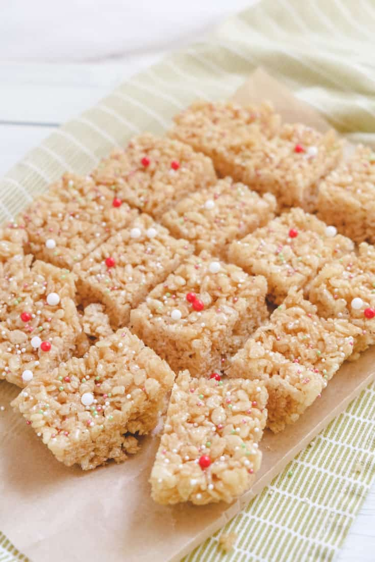 Rice Krispie Cakes with Golden Syrup - International Desserts Blog -  Dessert, Sweet & Snack Recipes from Around the World