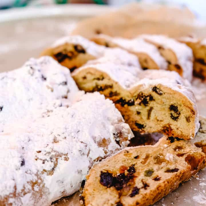 German Christmas Bread (Easy Authentic German Stollen Recipe)