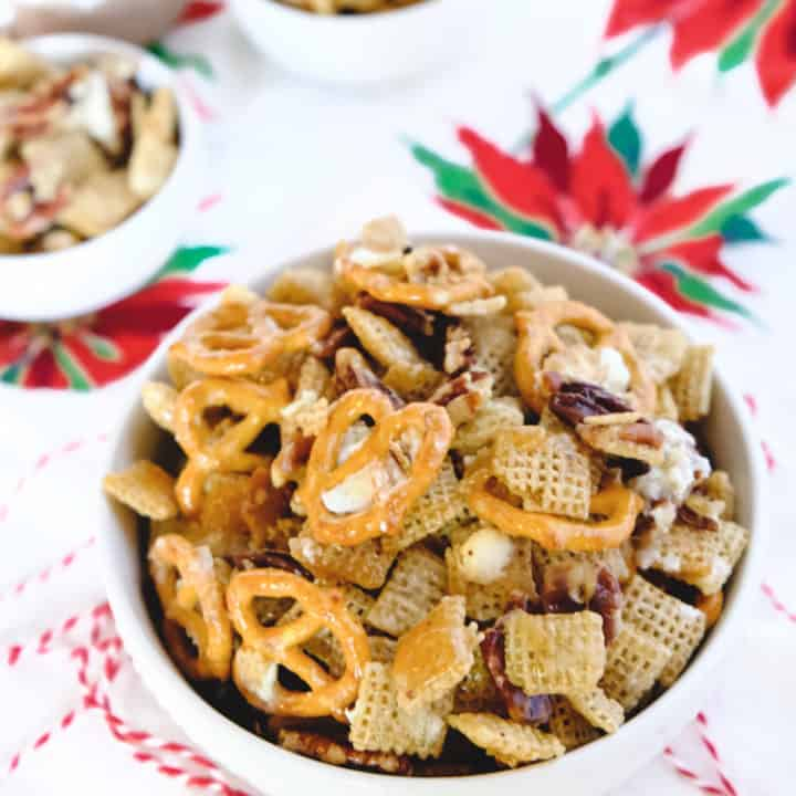 Golden Syrup Chex Mix