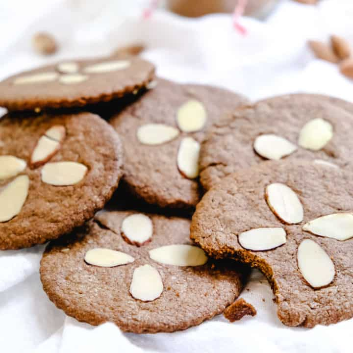 Dutch Speculaas Spice Cookies