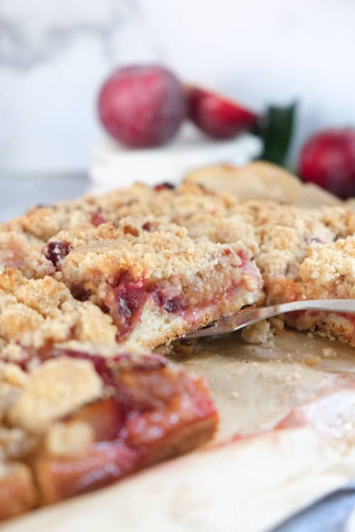 This image has an empty alt attribute; its file name is German-Plum-Cake-25.jpg
